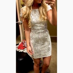 Dress the Population Tabitha Sequin Party Dress